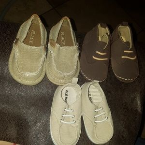 Baby boy shoes 6/9 & 12/18 months